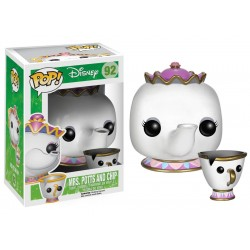 F, Pop Disney Mrs Potts & Chip