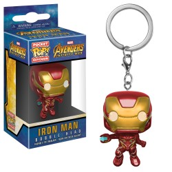 Llavero Funko Pop! Vengadores: Infinity War - Iron Man