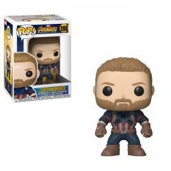 Funko Pop! Vengadores: Infinity War - Capitán América (288)