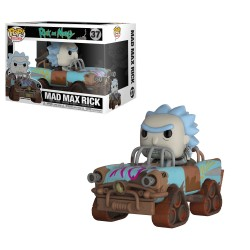 Funko Pop! Rick y Morty - Mad Max Rick (37)