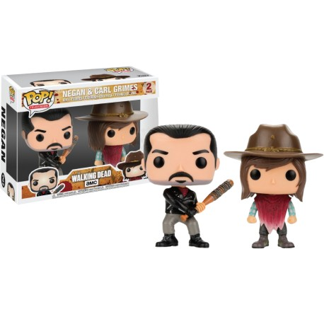 Pop WD Negan & Carl