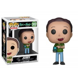 Funko Pop! Rick y Morty - Jerry (302)