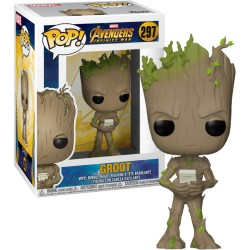 Funko Pop! Vengadores: Infinity War - Groot (297)