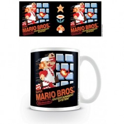 Taza Super Mario Nes Cover