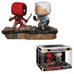 Funko Pop! Deadpool - Deadpool Vs. Cable (Momento Cómic) (318)