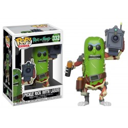 Funko Pop! Rick y Morty - Rick Pepinillo Laser (332)