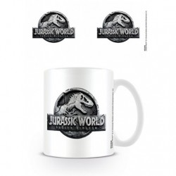 Taza Jurassic World Logo
