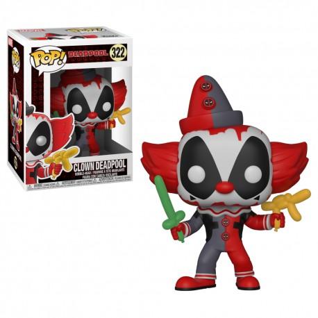 Pop Deadpool Payaso 322