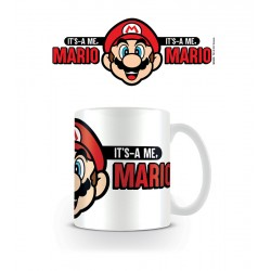 Taza Nintendo Mario It´s A Me
