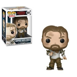 Funko Pop! Stranger Things - Hopper (con viñas) (641)
