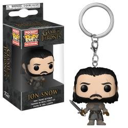 Pop Llavero GOT Jon Snow Muro
