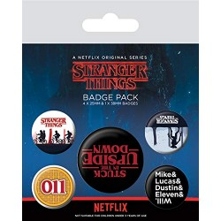 Pack Chapas Stranger Things Upside Down