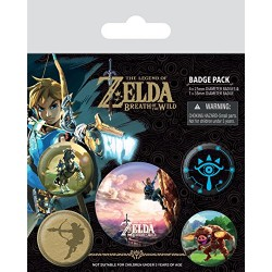 Pack Chapas Zelda Breath Climb