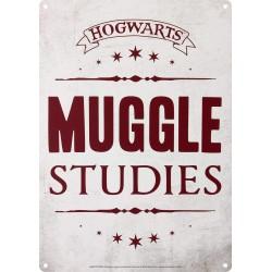 Chapa Metálica Pequeña Harry Potter Muggle