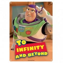 Chapa Metálica Disney Toy Story