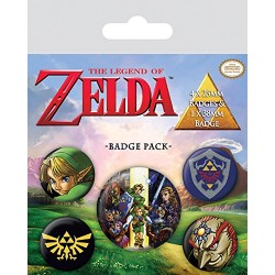 Pack Chapas The Legend of Zelda