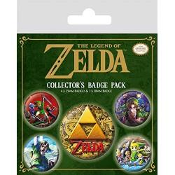 Pack Chapas Zelda Classics