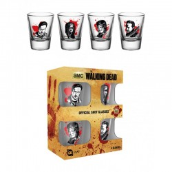 Mini Vasos Set Walking Dead