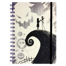 Cuaderno A5 - Pesadilla Antes de Navidad - Jack y Sally