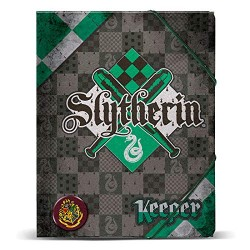Carpeta HP Slytherin Gomas