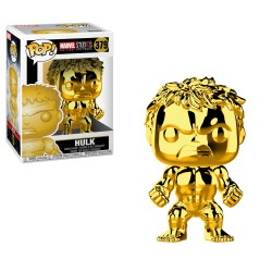Pop Marvel Hulk Dorado 379