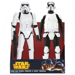 Fig,Set SW Troopers 45cm