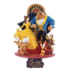 Diorama Bella y Bestia 15 cm