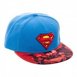 Gorra Superman Roja y Azul
