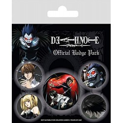 Pack Chapas Death Note