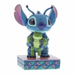 Figura - Lilo y Stitch - Stitch con rana (Strange Life-Forms)