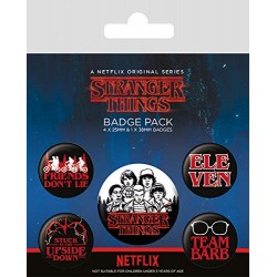 Pack Chapas Stranger Things