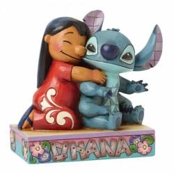 Abrazo Lilo Y Stitch