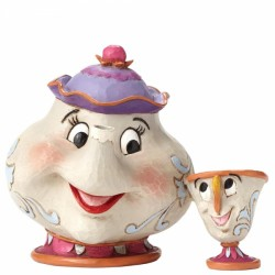 Figura - La Bella y la Bestia - Mrs Potts y Chip