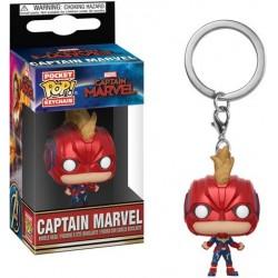 Pop Llavero Capitana Marvel Casco