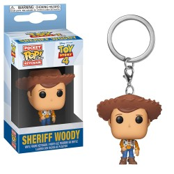 Llavero Funko Pop! Toy Story 4 - Woody
