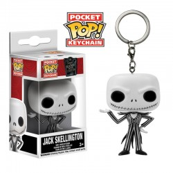 F Pop Llavero Jack Skellington