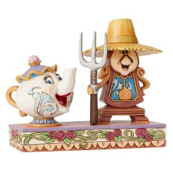 Figura - Din Don y Mrs Potts