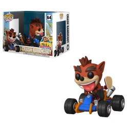 Pop Crash bandicoot Coche 64