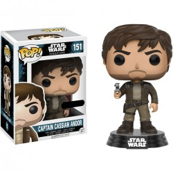 Funko Pop! Star Wars: Rogue One - Cassian Andor Marrón