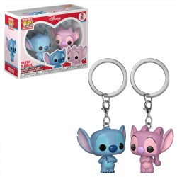 Llavero Pop Stitch Y Angel