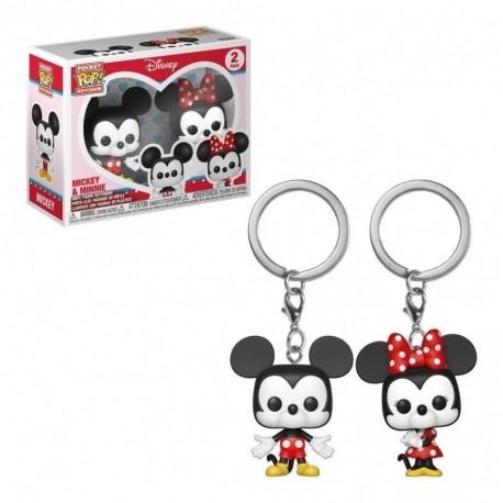 Llavero Pop Mickey Y Minnie