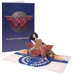 T,Felicitacion 3D Wonder W,