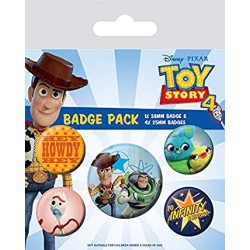 Pack Chapas Toy Story 4