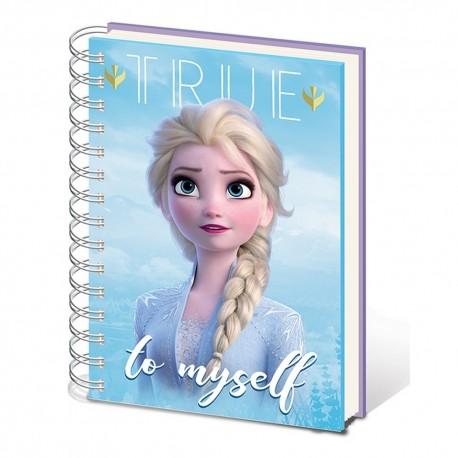 Cuaderno Frozen 2