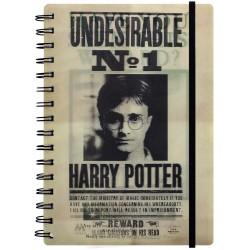 Cuaderno HP Siruis Harry 3D