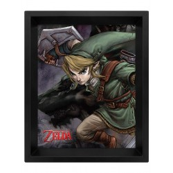 Cuadro 3D Link - The Legends of Zelda