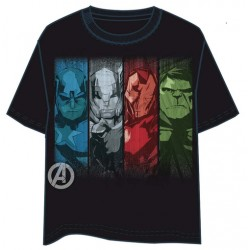 Camiseta Avengers Faces