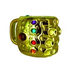 Taza 3D Puño De Thanos