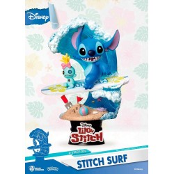 Diorama Deluxe Stitch Surf - Lilo y Stitch - Disney