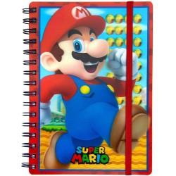 Cuaderno Lenticular Mario